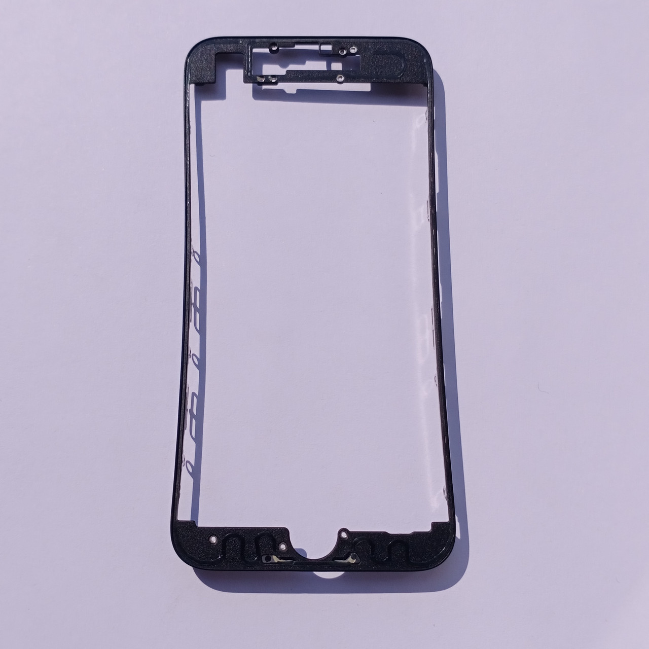 Рамка крепления дисплейного модуля Novacel для Apple iPhone 7 Black