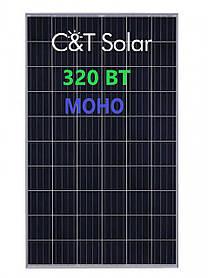 Солнечная панель C&T SOLAR СT60-320-M 320 ВТ монокристаллический PV модуль