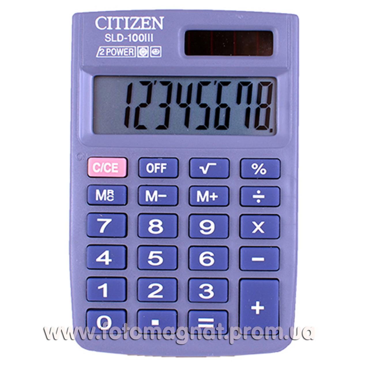 Калькулятор карманный   CITIZEN 100/100N