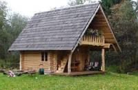 Строительство деревянных домов. Проект 3