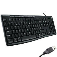 Клавиатура Logitech K200 Media Keyboard (920-002779)