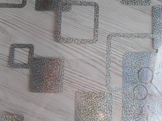 Серебристые квадраты