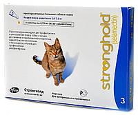 Zoetis Stronghold Капли от блох, ушных клещей и глистов для кошек