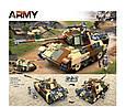 """Конструктор Sluban M38-B0859 """"Бойовий танк 2в1"""" 725 деталей, фото 2"""