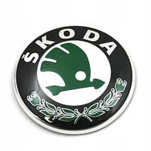 Оригинальная эмблема решетки радиатора Skoda 3T0 853 621 A MEL