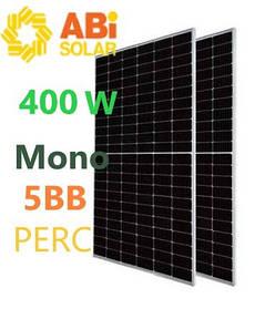 Abi-Solar 400 Вт солнечный монокристаллический фотомодуль 400-72MHC