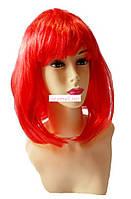 Парик карнавальный Красные волосы