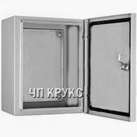 Щит-бокс монтажний 600х400х200 герметичний ІР65 металевий з монтажною панеллю
