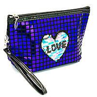 Косметичка - сумочка з сердечком