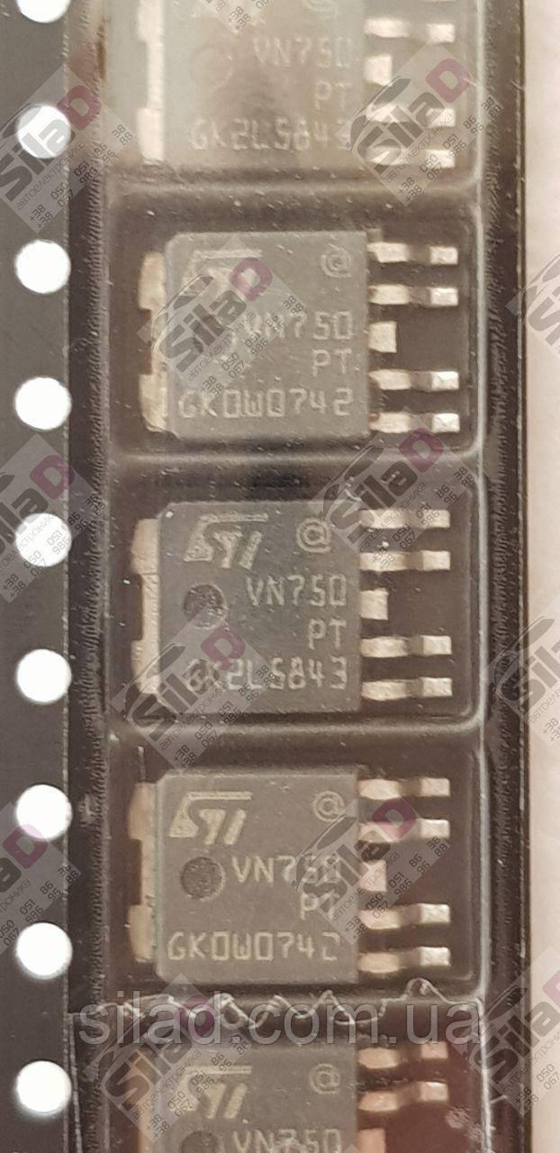 Микросхема VN750PT VN750-E STMicroelectronics корпус PPAK TO252