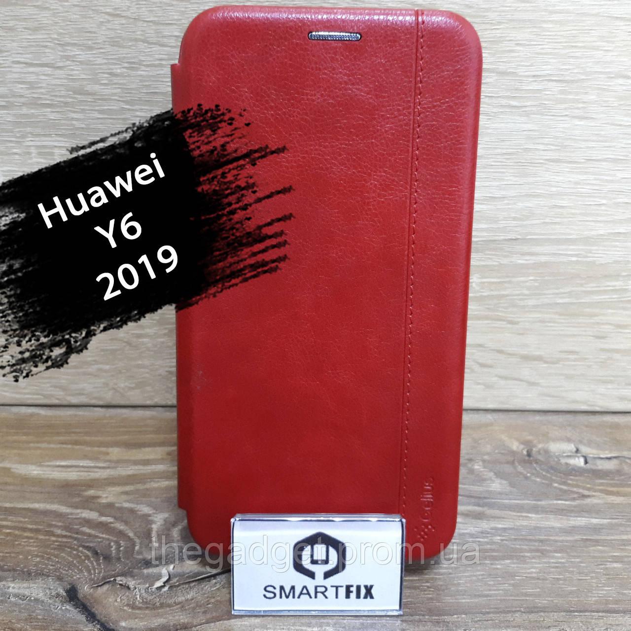 Чехол книжка для Huawei Y6 2019 Gelius