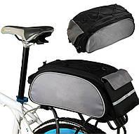 Сумка велосипедна на багажник Roswheel 14541-A Black