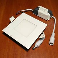 Светильник светодиодный Biom PL-S3 W квадратный белый
