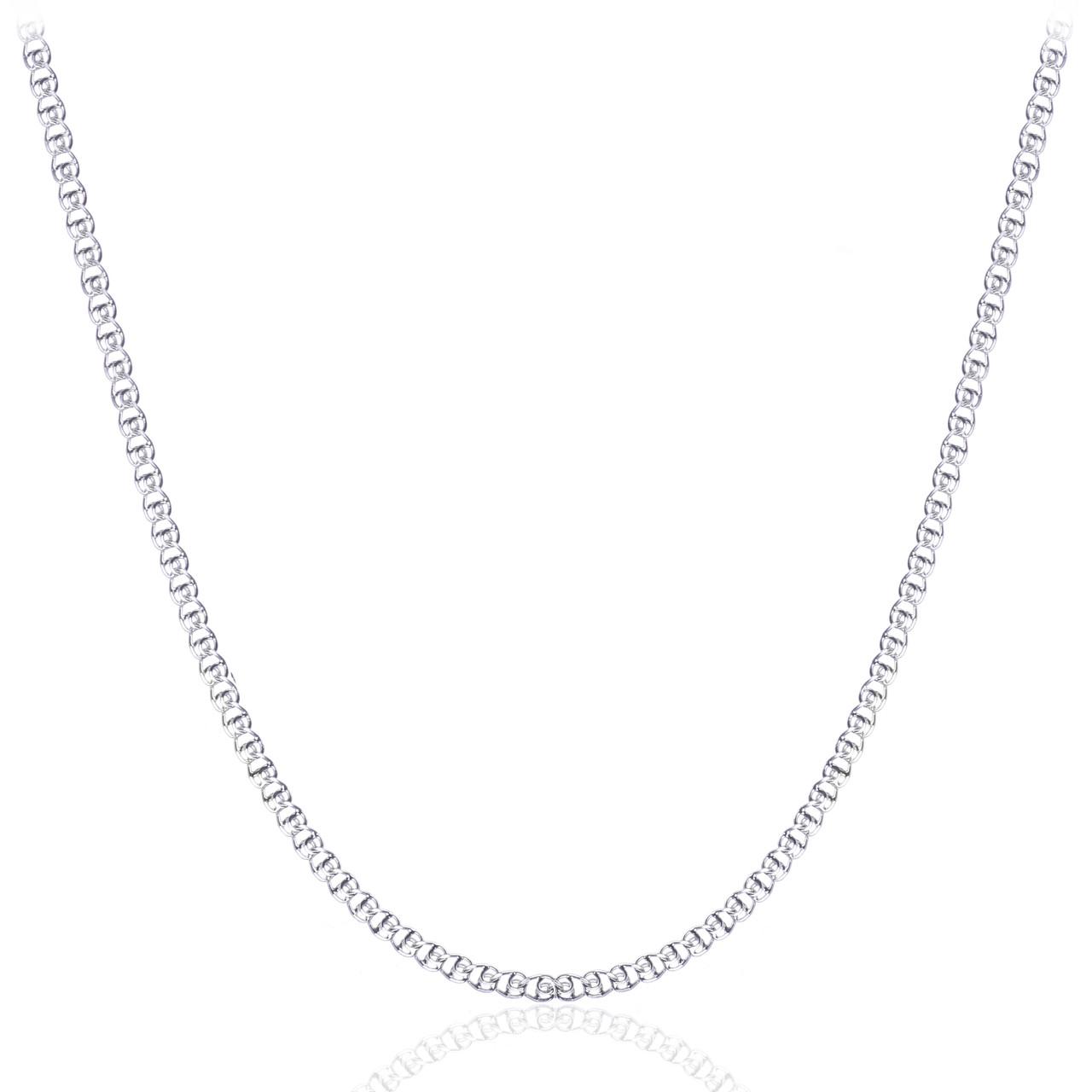 Серебряная цепочка ЛАВ 3.5 мм, 55 см