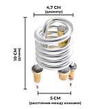 ТЭН для водонагревателя ZERIX ELH-3000A ELW06 и ELW16 (с индик. темп.) (ZX2787), фото 3