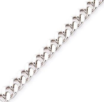 Серебряная цепочка ПАНЦИРЬ 5 мм размер 60 см
