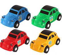 """Детская машинка Wader авто """"Жук""""  - длина 22 см."""