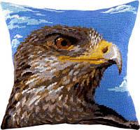 Набор для вышивки подушки. Орёл.