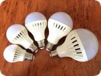Лампа светодиодная LED 9W  Е27/Е14