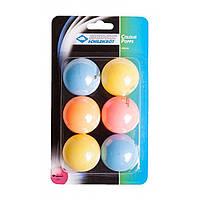 Мячи для настольного тенниса Donic Colour popps (6шт)