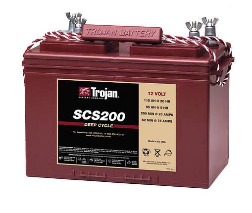 Акумуляторна батарея Trojan SCS200, фото 2
