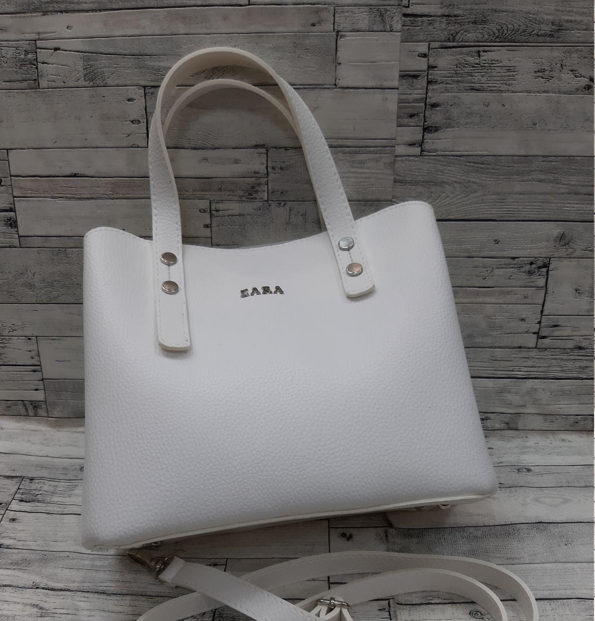 Женская стильная сумка эко-кожа Зара Zara.