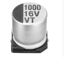 Конденсатори 1000uf 16v 16В 1000мкФ SMD VT 10*10.5 MM, фото 2