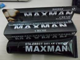 """Крем для увеличения пениса """"Maxman cream"""" (60 грамм)."""