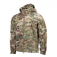 M-Tac куртка мультикам Soft Shell Multicam
