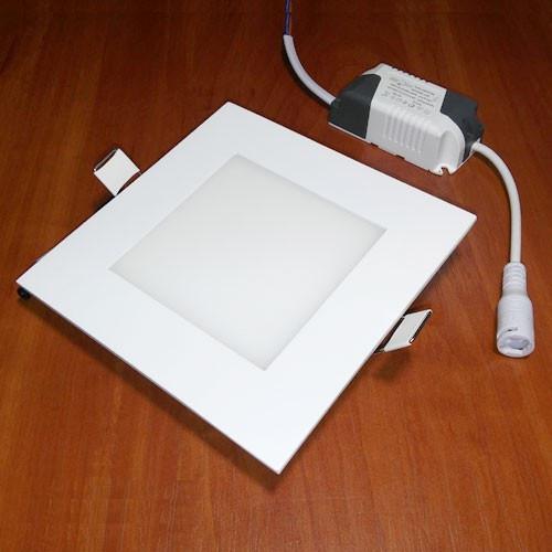 Светильник светодиодный Biom PL-S6 WW 6Вт квадратный теплый белый