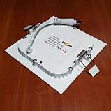Светильник светодиодный Biom PL-S6 WW 6Вт квадратный теплый белый, фото 2