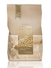 Воск горячий пленочный в гранулах бразильский (белый шоколад), 1000 г, ITALWAX (Италия)