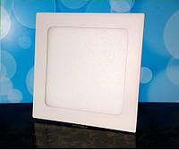 Светильник светодиодный Biom PL-S24 W 24Вт квадратный белый, фото 1