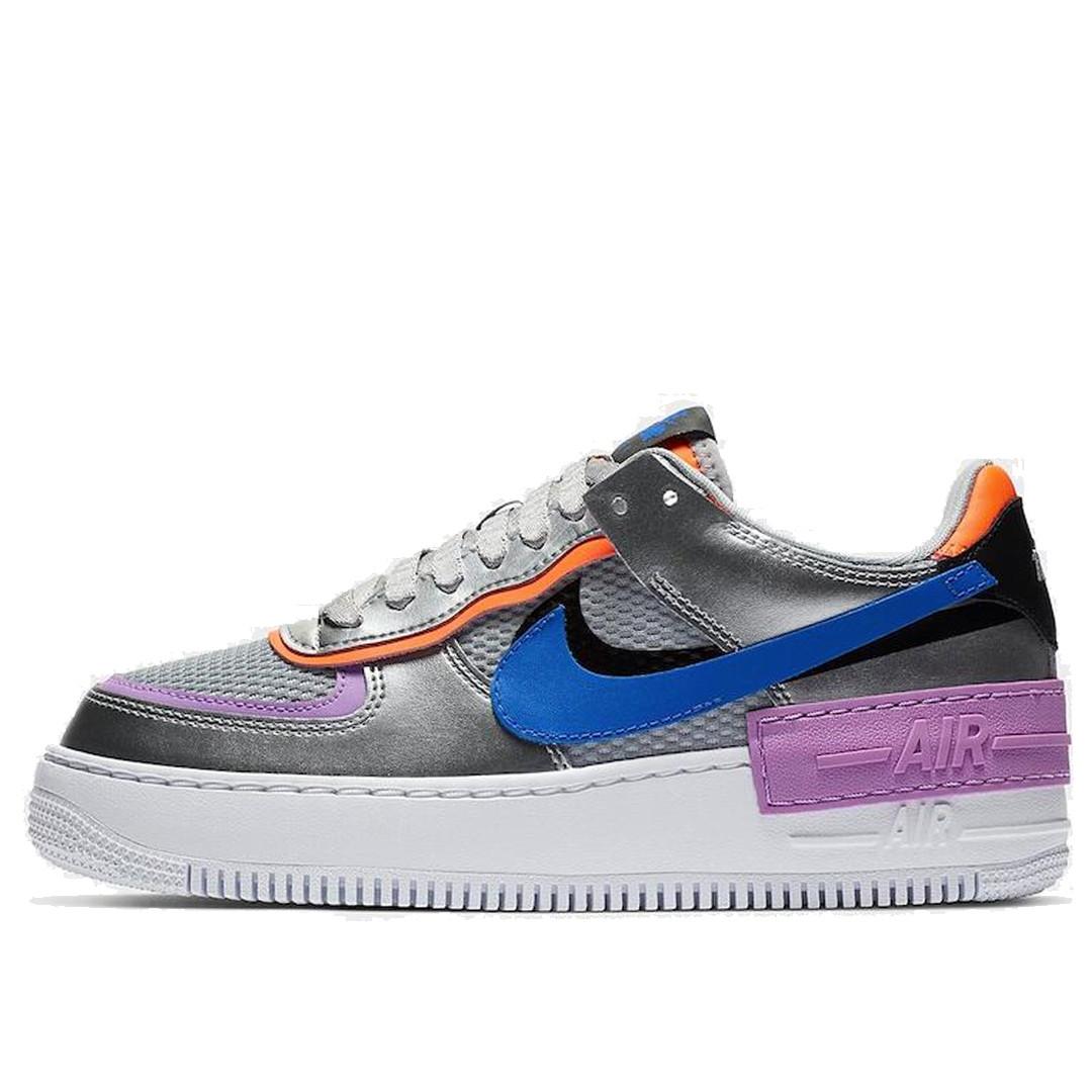 """Кросівки Nike Air Force 1 Shadow """"Сріблясті"""""""