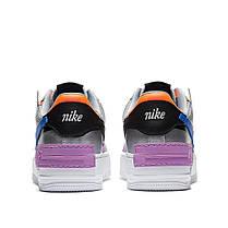 """Кросівки Nike Air Force 1 Shadow """"Сріблясті"""", фото 3"""