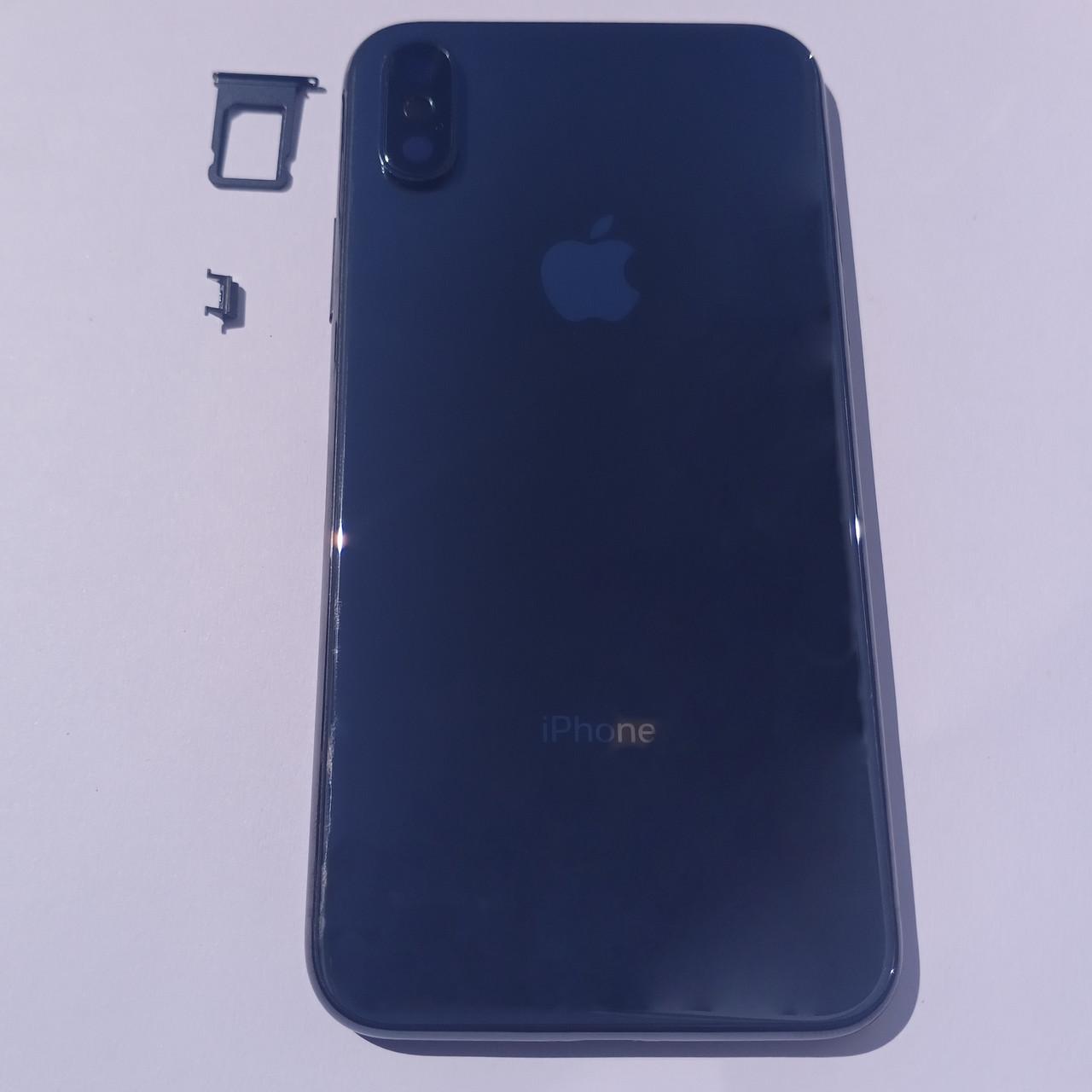 Корпус Apple iPhone X black