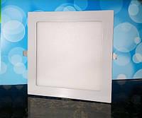 Светильник светодиодный Biom PL-S18 WW 18Вт квадратный теплый белый, фото 1