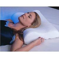 Ортопедическая подушка с эффектом памяти   Подушка для здорового сна, «Memory Pillow» Белая