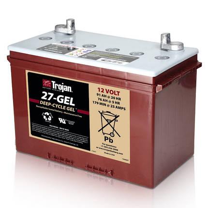 Аккумуляторная батарея Trojan 27-GEL, фото 2