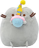 Комплект Мягкая игрушка кот с кексом Pusheen cat и Летающий светящийся шар JM-888 (n-734), фото 4