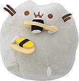 Комплект Мягкая игрушка кот с суши Pusheen cat и Летающий светящийся шар JM-888 (vol-740), фото 5