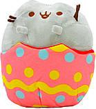 Комплект Мягкая игрушка кот в яйце Pusheen cat и Летающий светящийся шар JM-888 (vol-741), фото 5