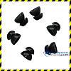 Змінні чорні вкладиші для Alpine, Qzone, EarSonics (S розмір).