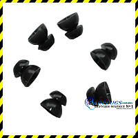 Змінні чорні вкладиші для Alpine, Qzone, EarSonics (S розмір)., фото 1