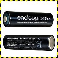 Аккумуляторы AA Panasonic Eneloop Pro 2450 mAh (BK-3HCCE), Япония.