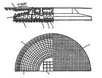 Устройство фундамента промышленной дымовой трубы