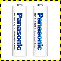 Аккумуляторы AAA Panasonic Eneloop 750 mAh (BK-4MCCE), Япония.