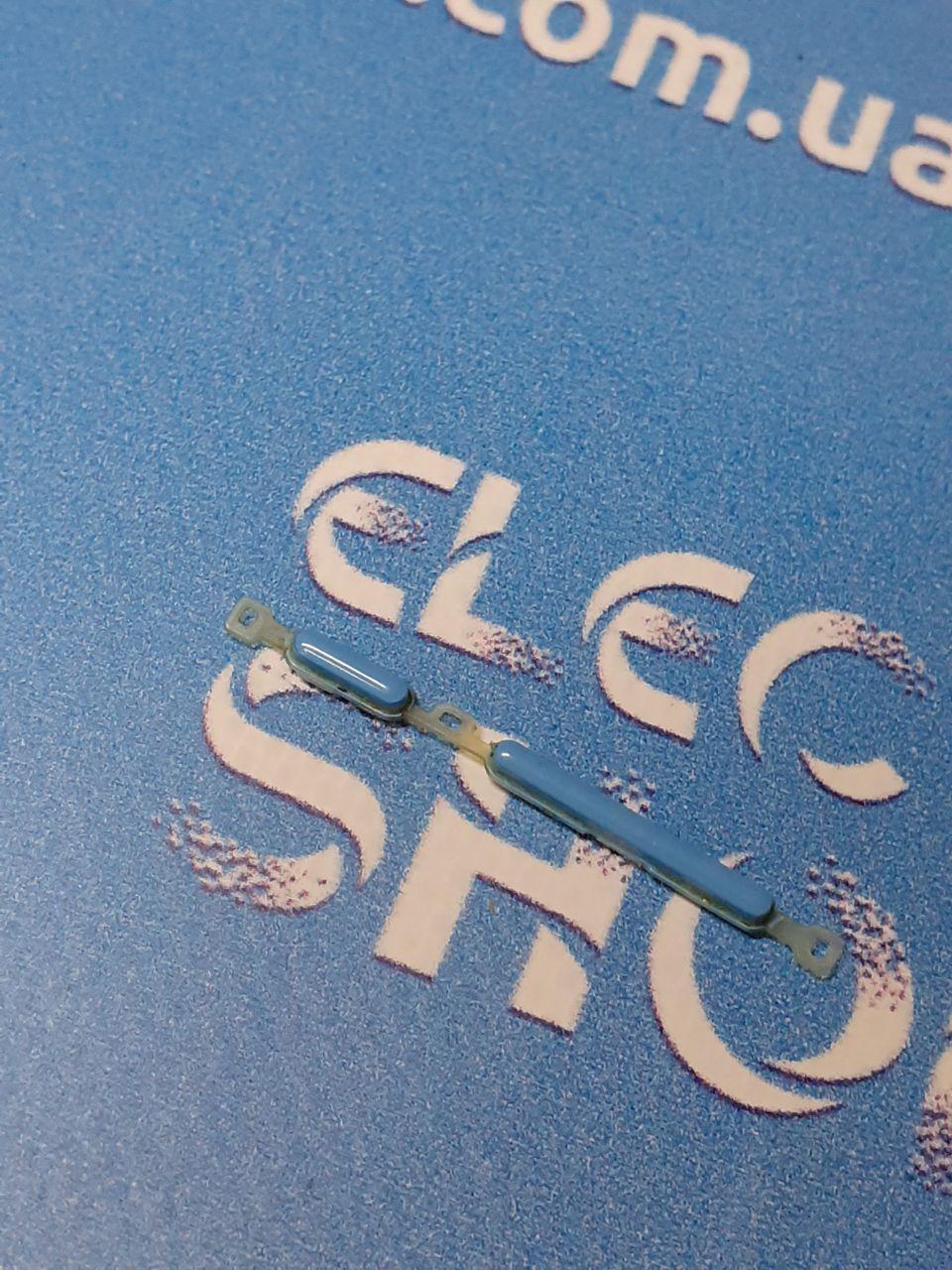 Пластиковые кнопки голубые ZTE  blade Q  lux 3G  оригинал б.у.