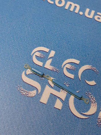 Пластиковые кнопки голубые ZTE  blade Q  lux 3G  оригинал б.у., фото 2