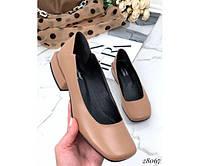 Стильные кожаные туфли TOTO, фото 1